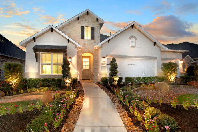 A beautiful Drees model home.