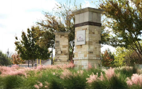 Spring comes early to Fairway Ranch! Masses of lovely pink muhly grass welcome you at the community entrance.